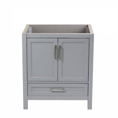 Salerno 31 in. W x 22 in. D Bath Vanity Cabinet Only in Grey