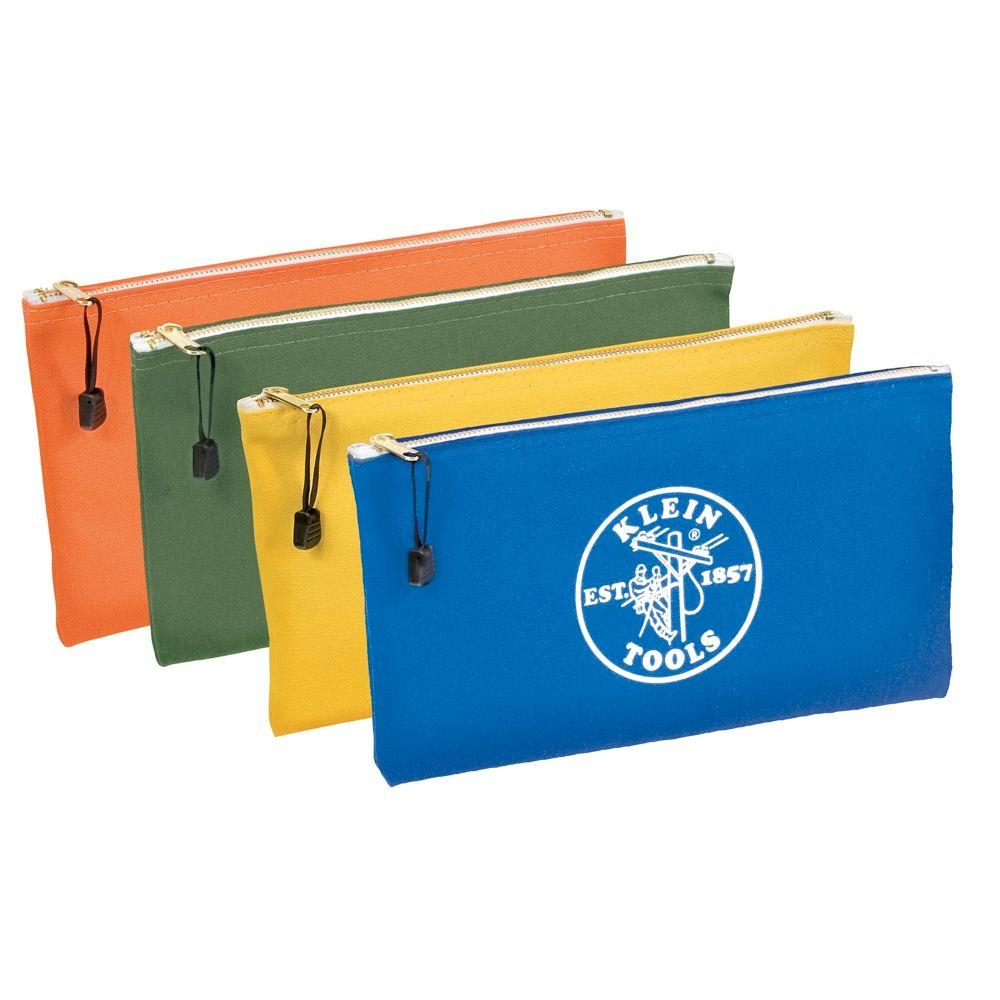 Klein Tools Zipper Bags (4-Pack)