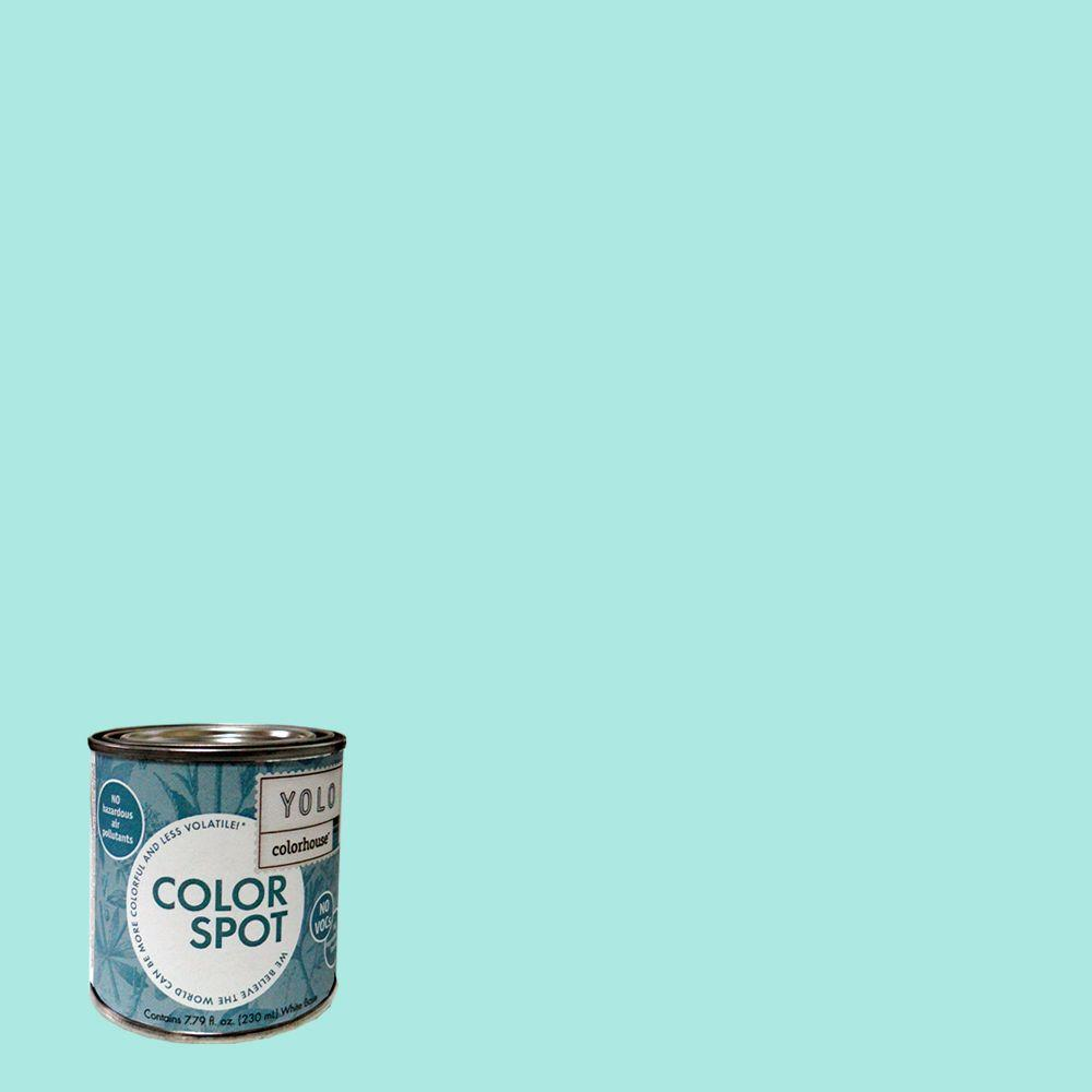 YOLO Colorhouse 8 oz. Sprout .01 ColorSpot Eggshell Interior Paint Sample-DISCONTINUED