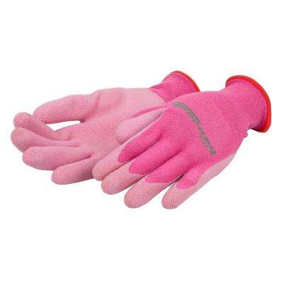 Nitrile Coated Bamboo String Knit Gloves (Women's M)