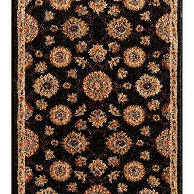 Kurdamir II Alhambra Onyx 26 in. x Your Choice Length Roll Runner