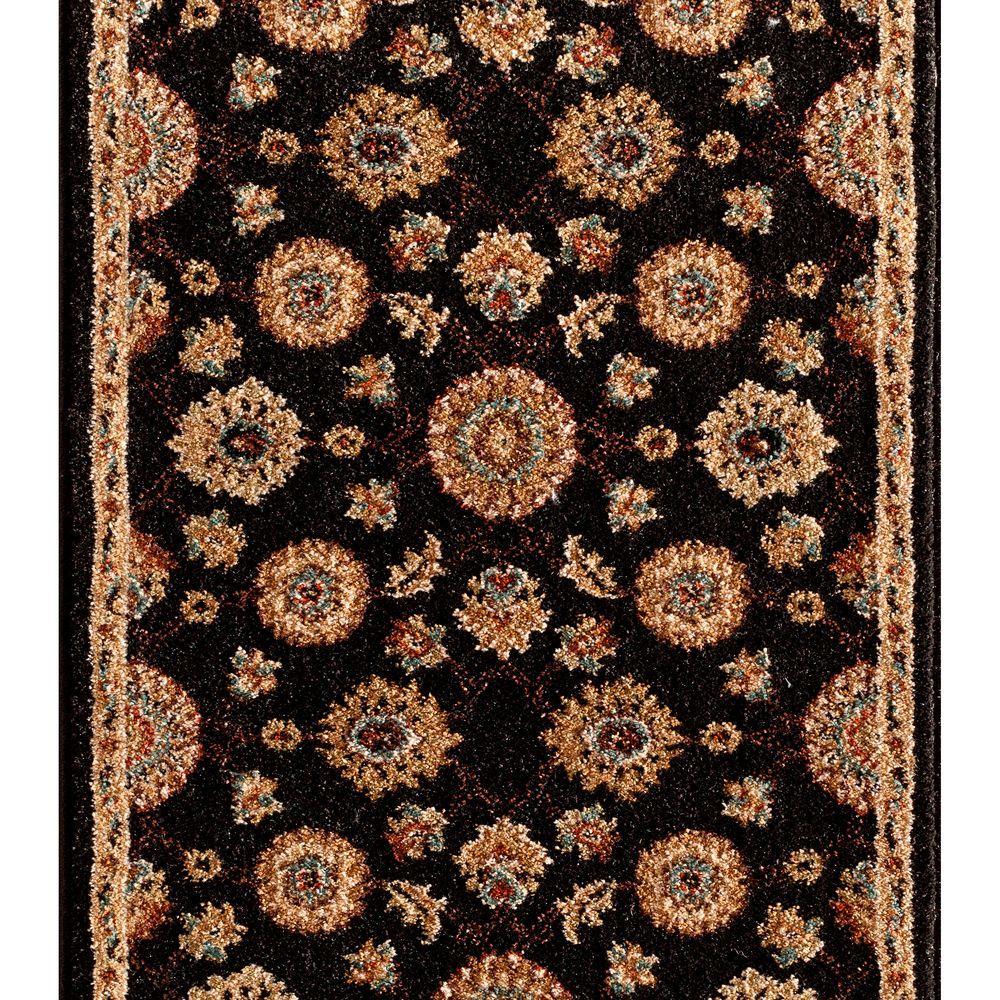 Kurdamir II Alhambra Onyx 33 in. x Your Choice Length Stair Runner