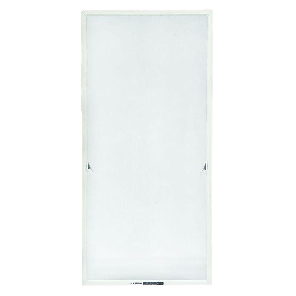 TruScene 20-11/16 in. x 31-15/32 in. White Casement Insect Screen