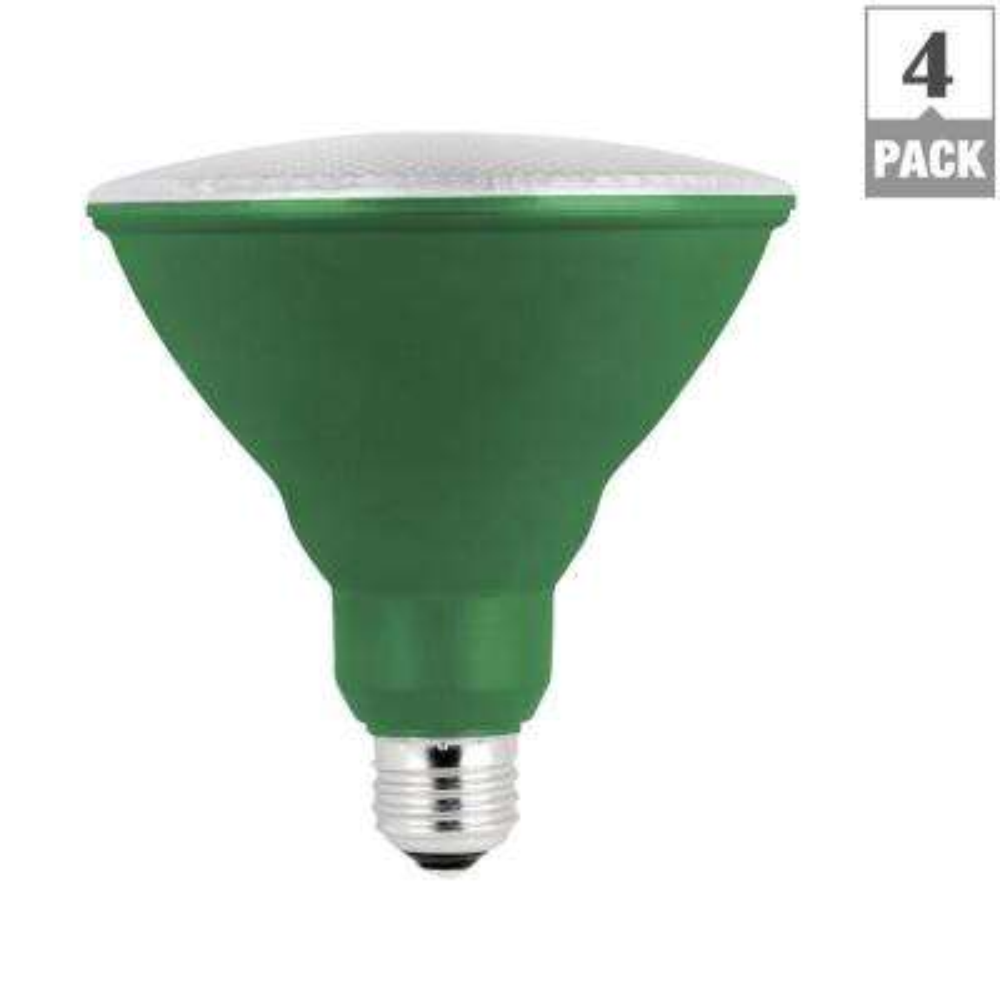 75W Equivalent PAR38 Full Spectrum LED Plant Grow Light Bulb (Case of 4)