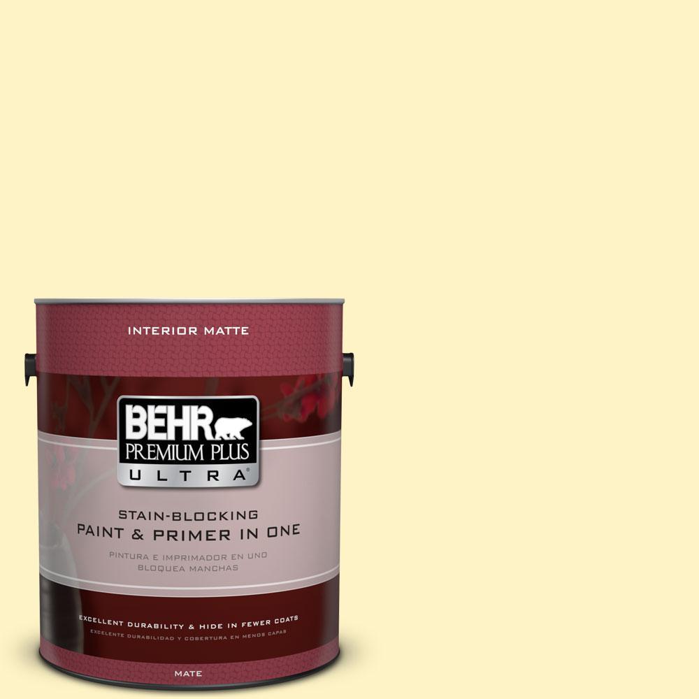 BEHR Premium Plus Ultra 1 gal. #P310-2 Natural Light Matte Interior Paint