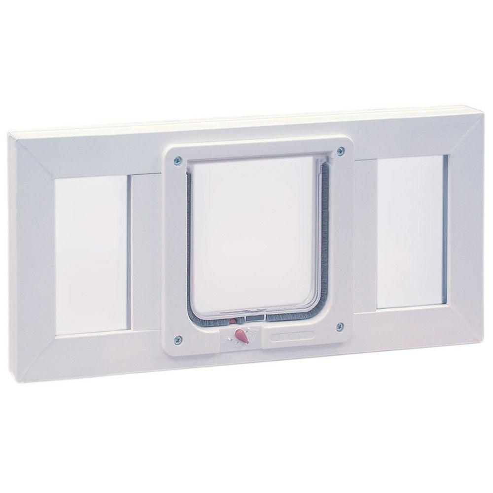 6.25 in. x 6.25 in. Small Cat Flap Pet Door with