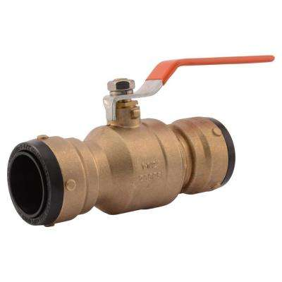 1-1/2 in. Brass Push-to-Connect Ball Valve