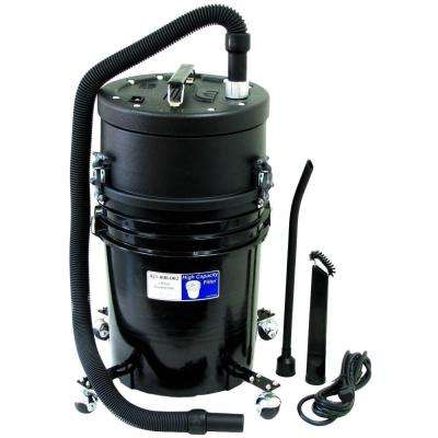 5 gal. HEPA Canister Vacuum Cleaner in Black