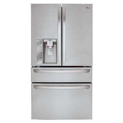 22.7 cu. ft. French Door Refrigerator in Stainless Steel, Counter Depth