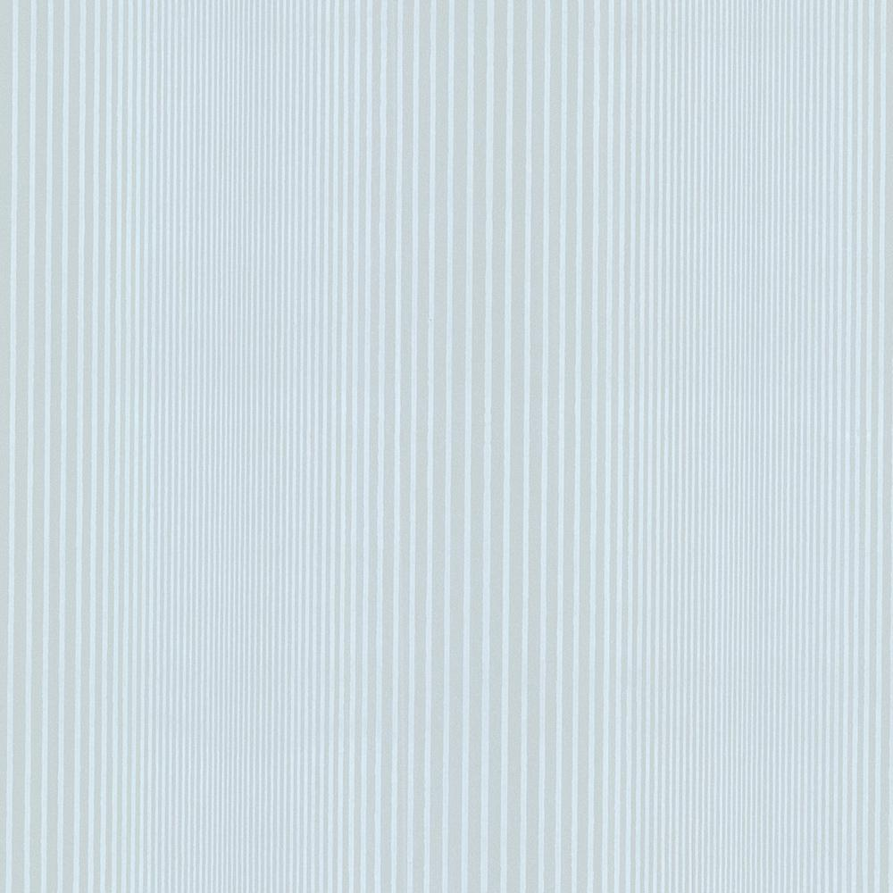 Alpha Blue Ombre Stripe Wallpaper