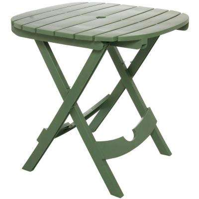 Quik-Fold Sage Patio Cafe Table