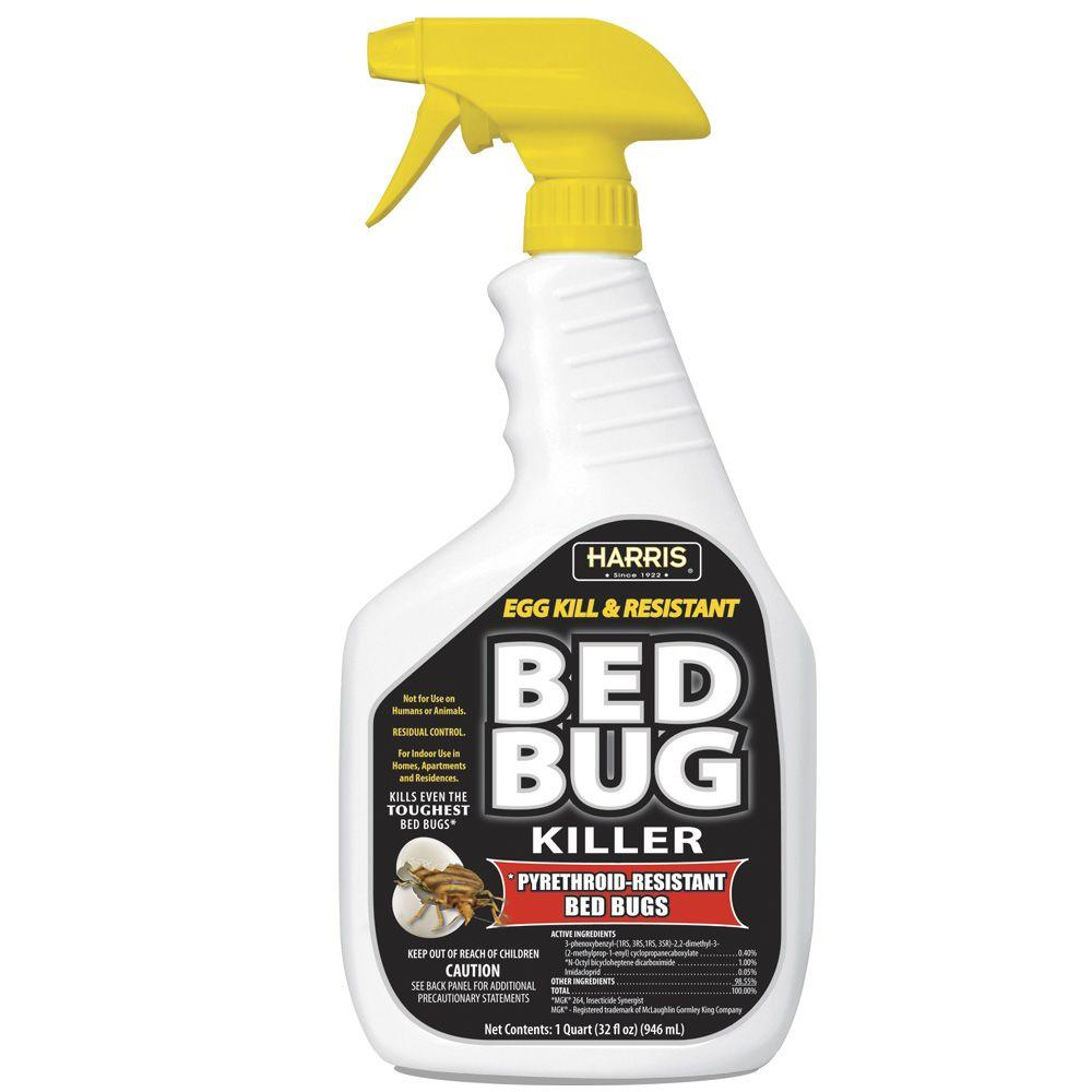 Harris 32 Oz Ready To Use Egg Kill And Resistant Bed Bug Killer
