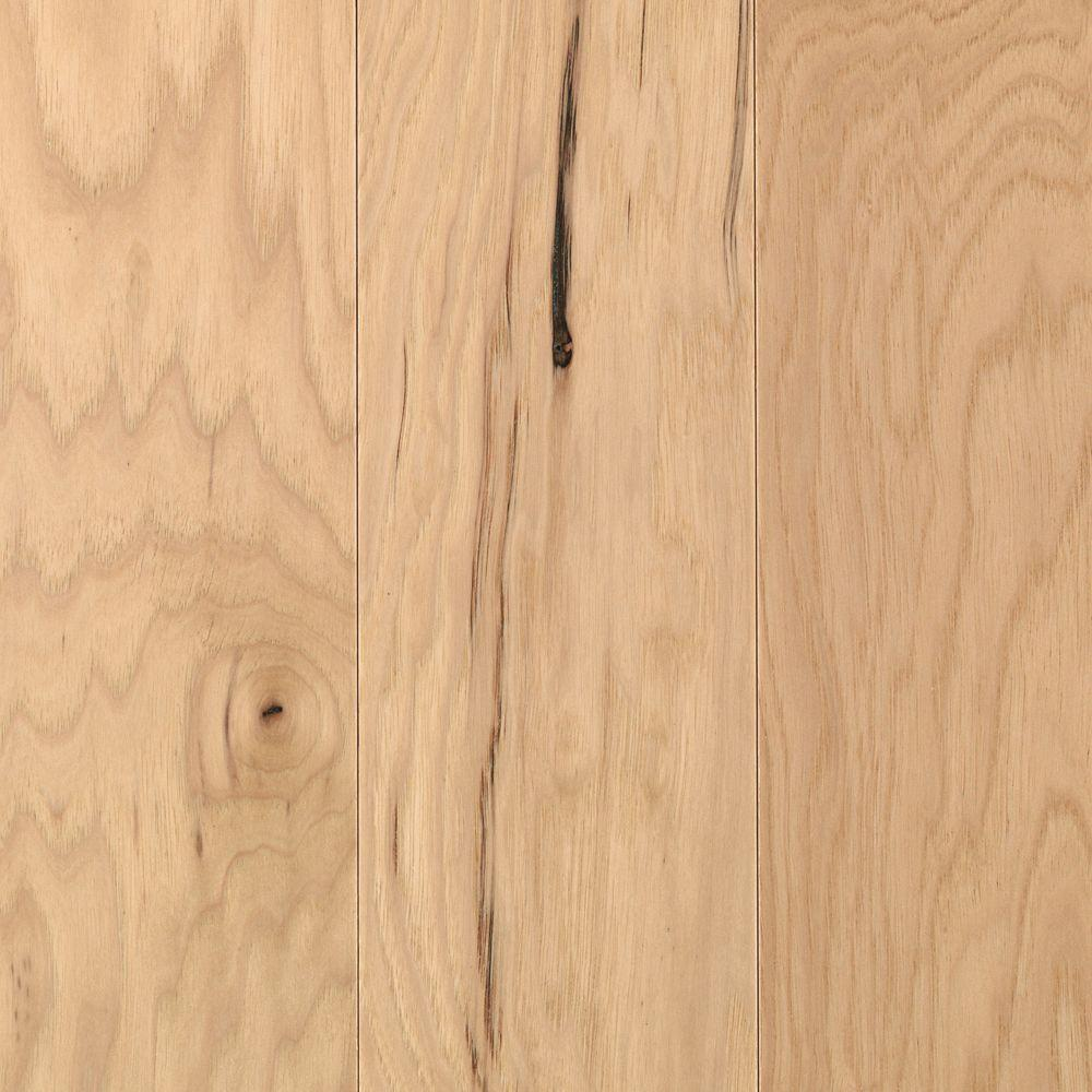 Mohawk Pristine Hickory Natural 3/8 in. Thick x 5-1/4 in. Wide x Random Length Engineered Wood Flooring (22.5 sq. ft./case)