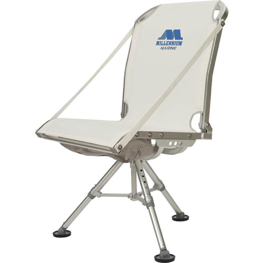 Marine Deck Chair, White