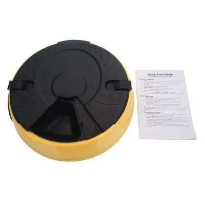 PF-18 6-Meal Yellow Automatic Pet Feeder