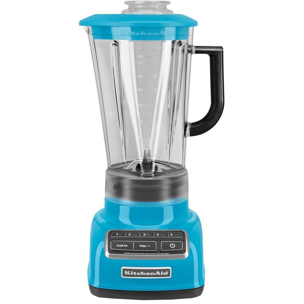 60 oz. 5-Speed Crystal Blue Blender