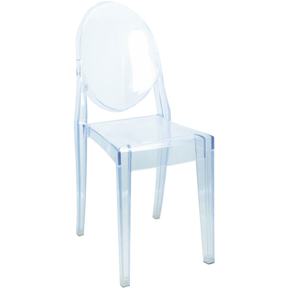 Bon Advantage Ghost Clear Chair (20 Pack)