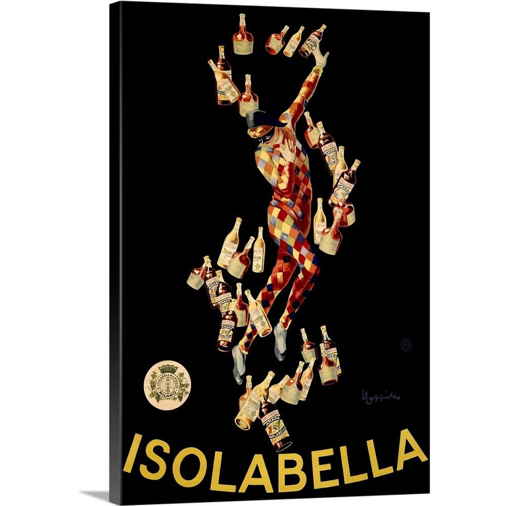 """Isolabella Vintage Advertising Poster"" by Great BIG Canvas Canvas Wall Art"
