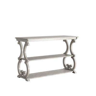 Kelsey Antique White Console