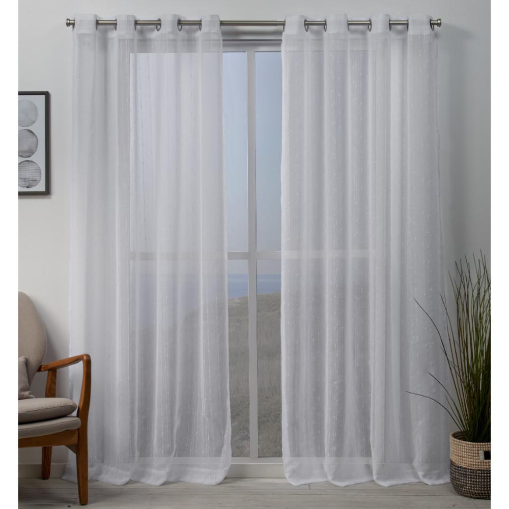 Exclusive Home Curtains Whitaker 54 In. W X 108 In. L