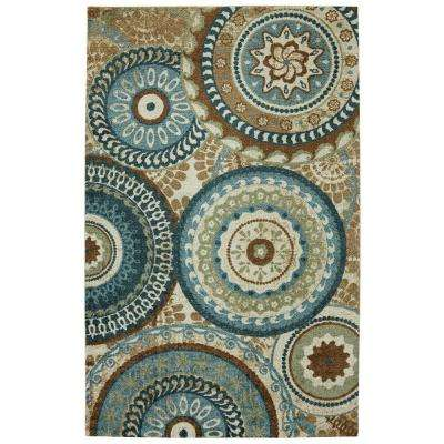 Forest Suzani 5 ft. x 8 ft. Area Rug