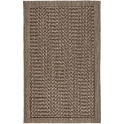 Palm Beach Silver 6 ft. x 9 ft. Area Rug