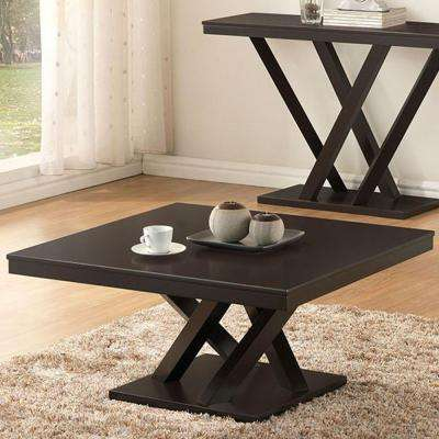 Everdon Dark Brown Coffee Table