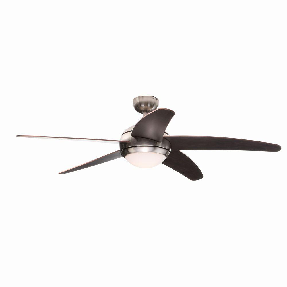 Westinghouse bendan 52 in satin chrome ceiling fan 7255700 the satin chrome ceiling fan 7255700 the home depot mozeypictures Gallery