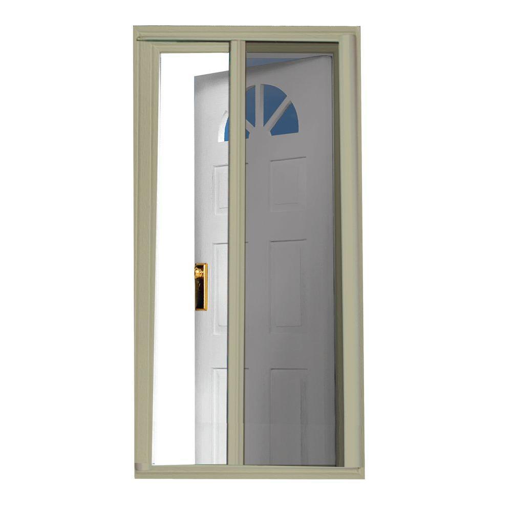 40 in. x 97.5 in. Sandstone Retractable Screen Door