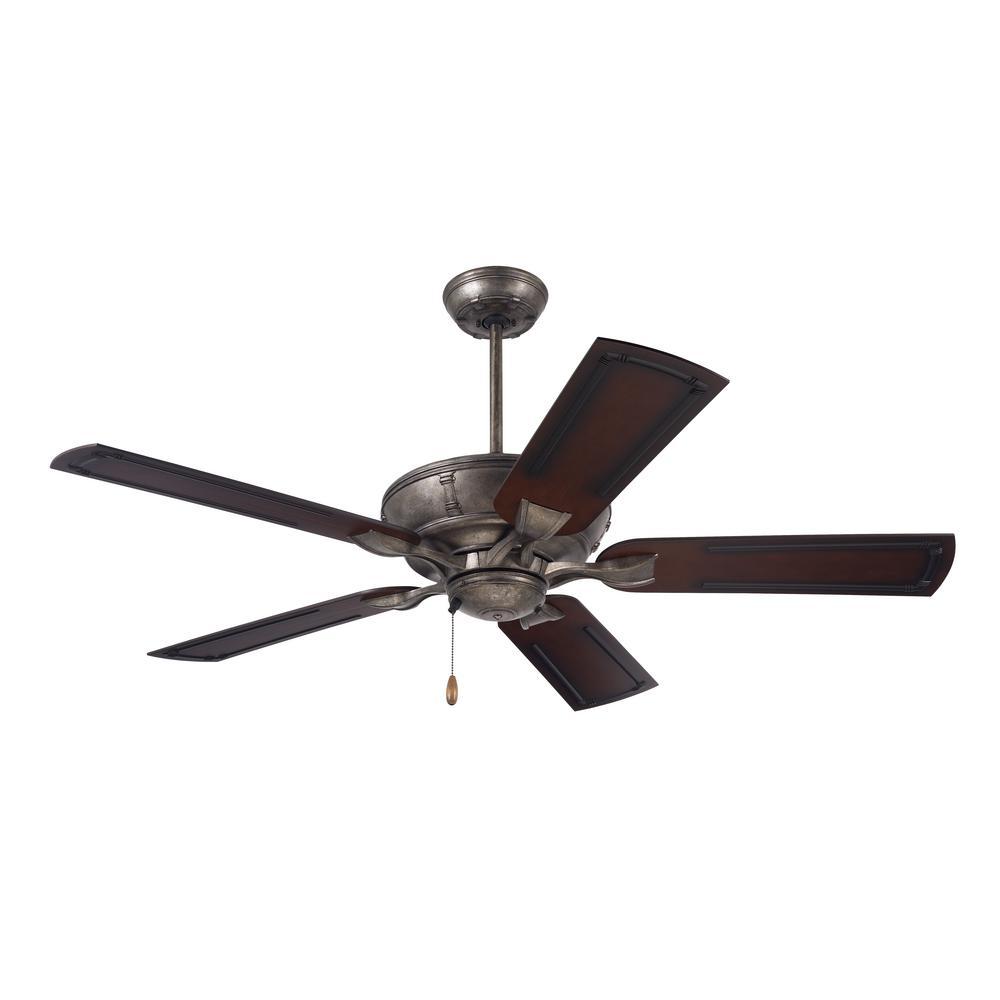 Welland 54 in. LED Indoor / Outdoor Vintage Steel Ceiling Fan