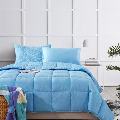 Bird on Branch Air Blue King Comforter Set