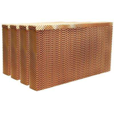 MAX COOL 31-1/2 in. W x 17-1/2 in. H x 3-1/2 in. D Replacement Evaporative Cooler Rigid Media