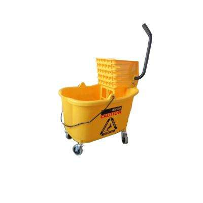 35 Qt. Mop Bucket Combination with Side Press