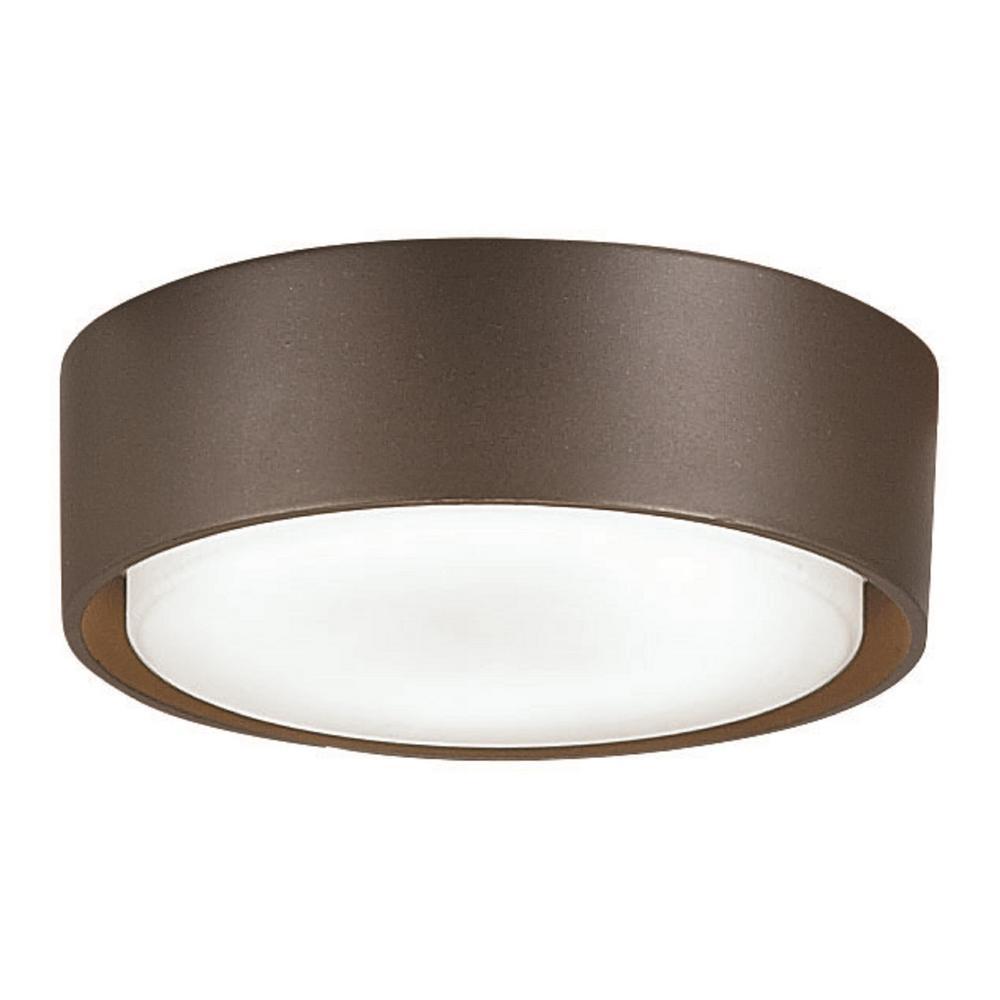 Simple 1-Light LED Oil Rubbed Bronze Ceiling Fan Light Kit