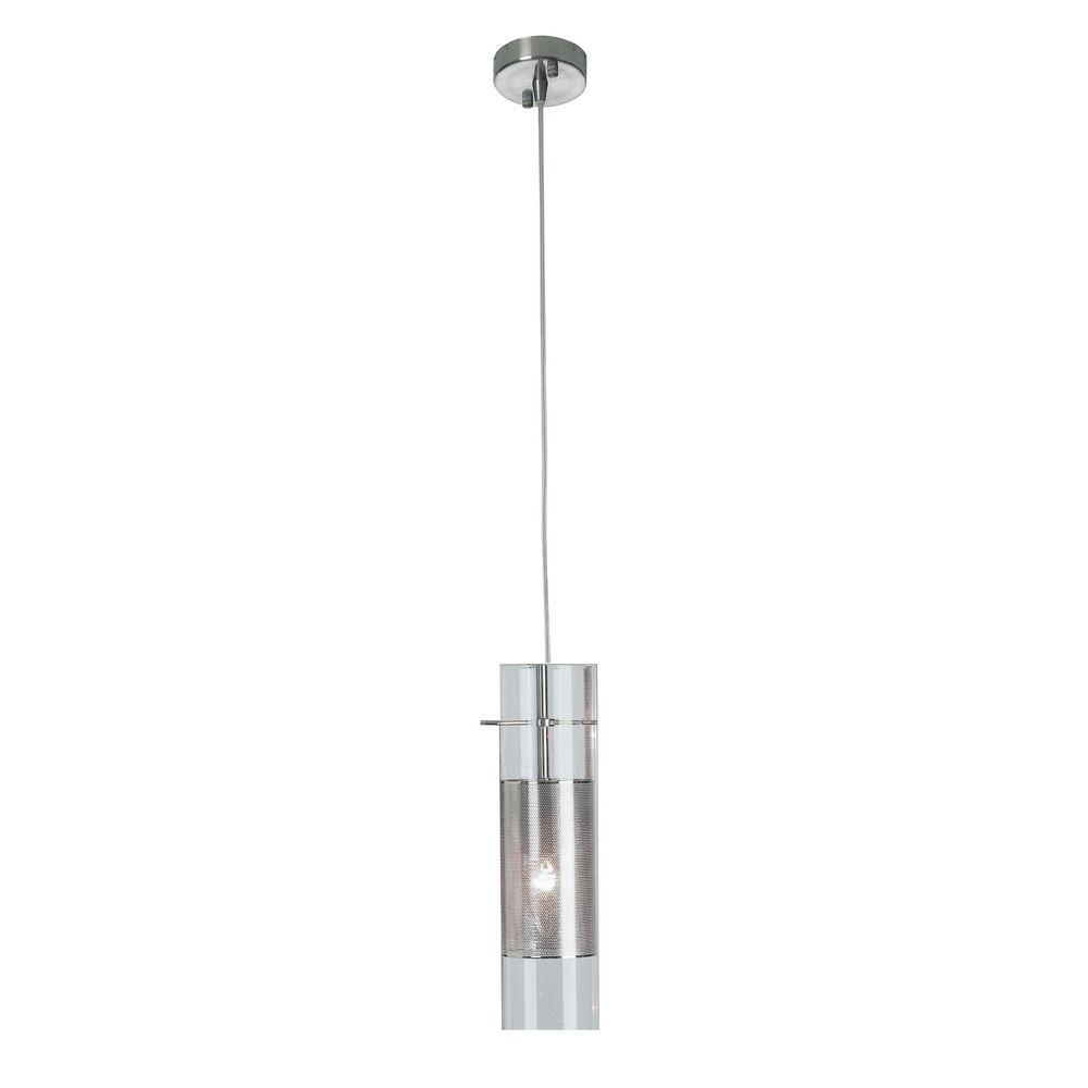 Trend Lighting Scope Collection 1-Light Glass/Metal Pendant