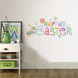 Happy Easter Wall Quote