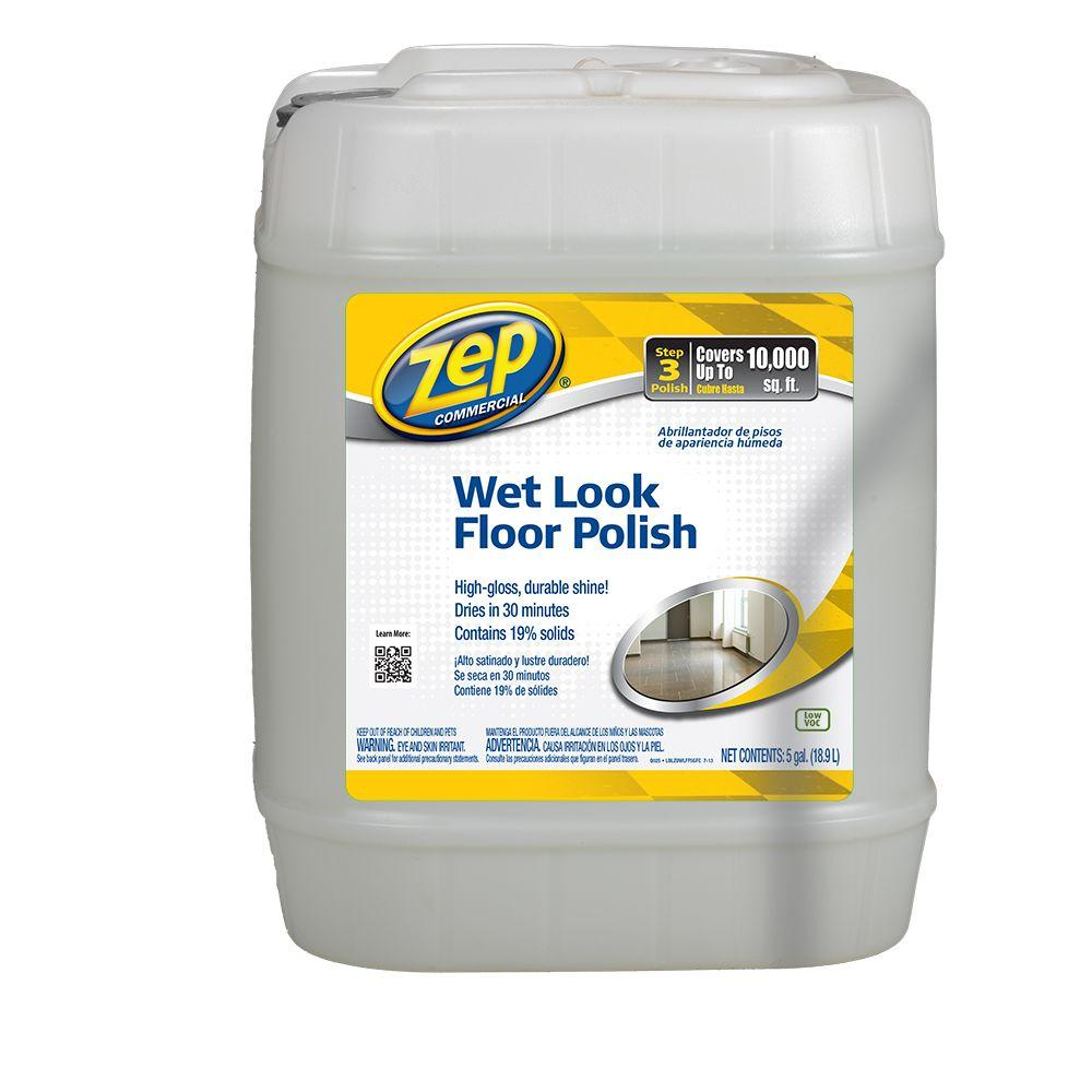ZEP 5 Gallon Wet Look Floor Polish