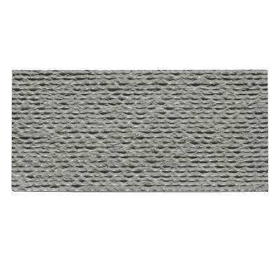 Basalt Striated 15 in. x 30 in. Natural Stone Slate Wall Tile (15.625 sq. ft. / case)