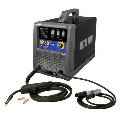 130 Amp MIG And Flux Core Wire Welder