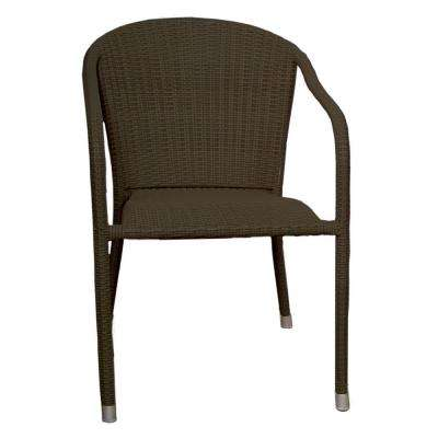Terrace Mates Java Stacking Patio Arm Chair (Set of 2)