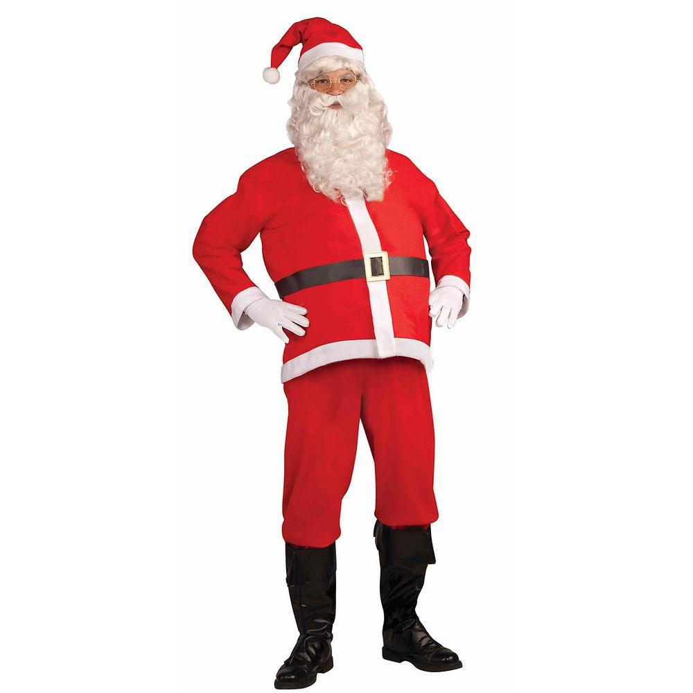 Forum Novelties Disposable Adult Santa Clause Costume