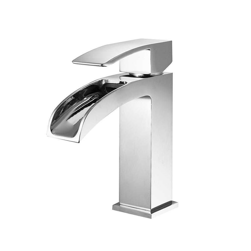 ROSWELL Liberty Single Hole Single-Handle Bathroom Faucet Polished Chrome