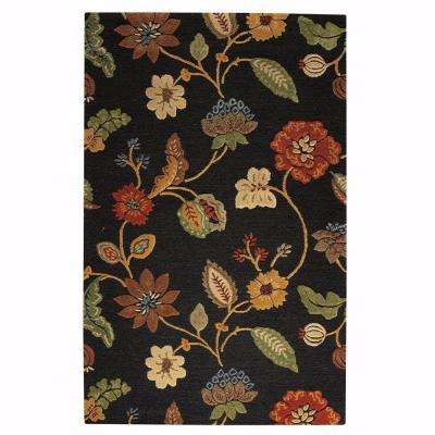 Portico Brown 3 ft. 6 in. x 5 ft. 6 in. Area Rug