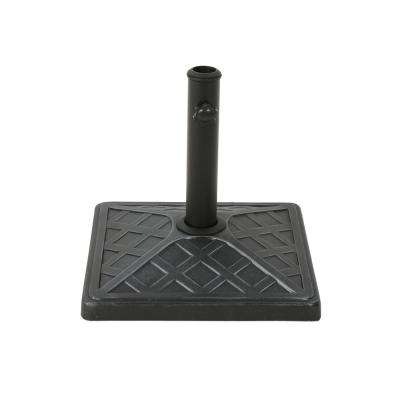 Felix 27.95 lbs. Concrete Patio Umbrella Base in Hammered Iron