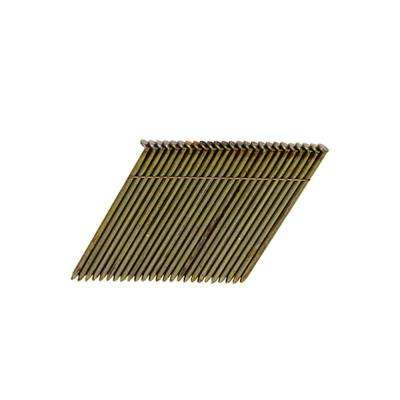 3-1/2 in. x 0.131-Gauge Wire Collated Galvanized Framing Nails (2,000 per Box)