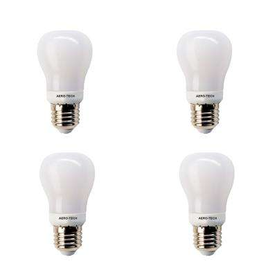 40-Watt Equivalent A15 30,000-Hours Frost LED Light Bulb Bright White (4-Pack)