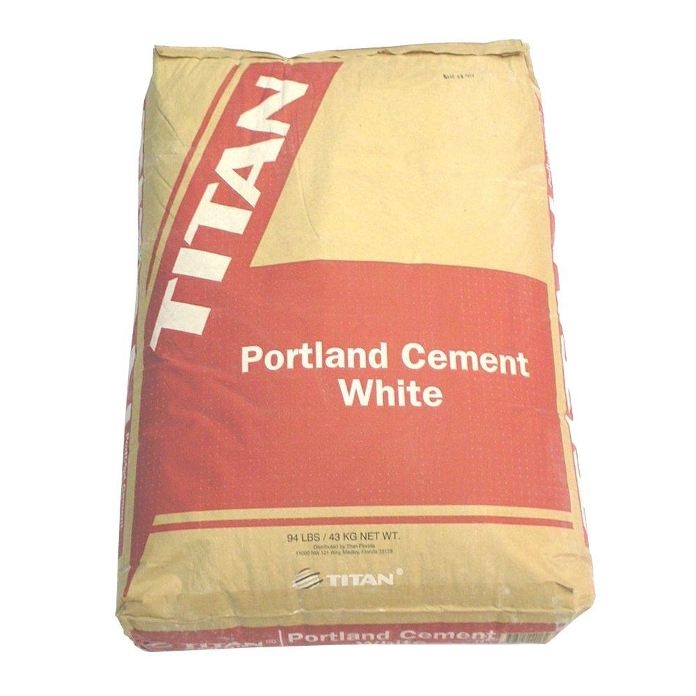 Portland Cement Decor : Lb white portland cement the home depot