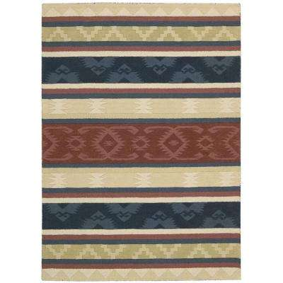 India House Multi 2 ft. 6 in. x 4 ft. Accent Rug