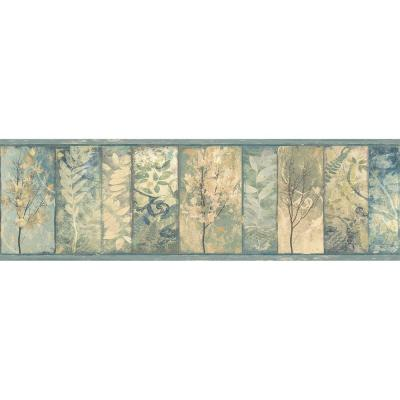 Lillinonah Foliage Wallpaper Border