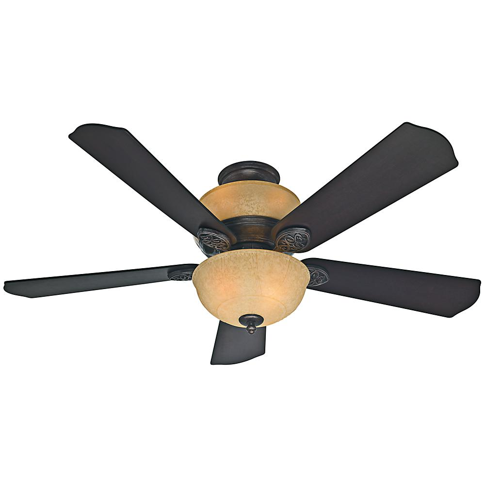 Hunter hazelwood 52 in indoor roman bronze ceiling fan for Hunter ceiling fan motor